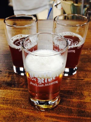 For $4, get a souvenir glass and taste all of the beers on tap.