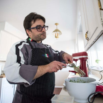Italian chef looks to serve up meals in his own home