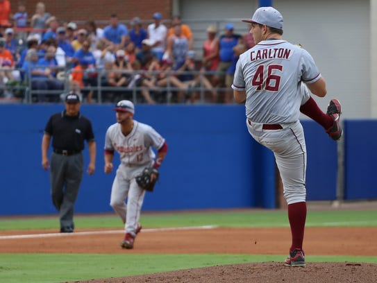 Drew Carlton returns as the Friday night ace for FSU