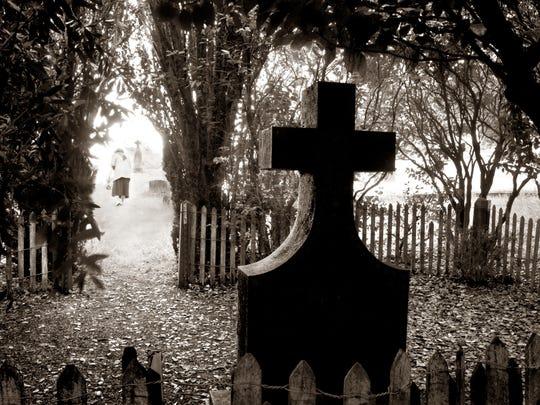 "T.J. Hankins photo ""Cemetery."""