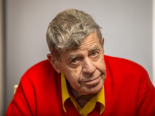 This is the face I saw when asking Jerry Lewis a question