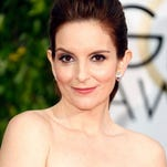 Host Tina Fey attends the 72nd Annual Golden Globe Awards at The Beverly Hilton Hotel on January 11 in Beverly Hills, California.
