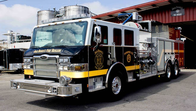 Pierce Manufacturing recently delivered a Velocit pumper to the Jack Daniel's Fire Brigade in Lynchburg, Tenn. The apparatus is custom built to meet the unique emergency response challenges of the Jack Daniel distillery.