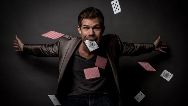 Rock star magician Sammy Cortino will perform at WPPAC March 21.