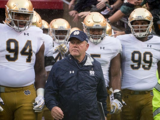 NCAA Football: Notre Dame at North Carolina State