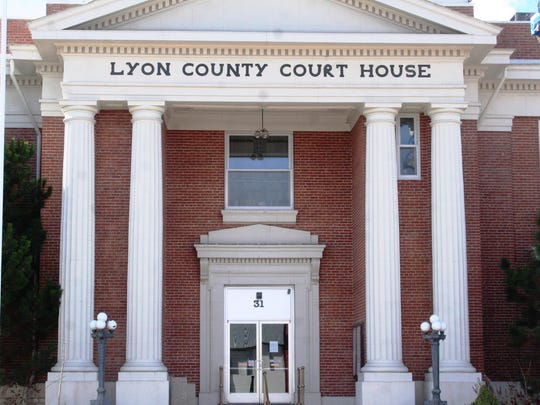 The Lyon County Court House is located on Yerington's Main Street.