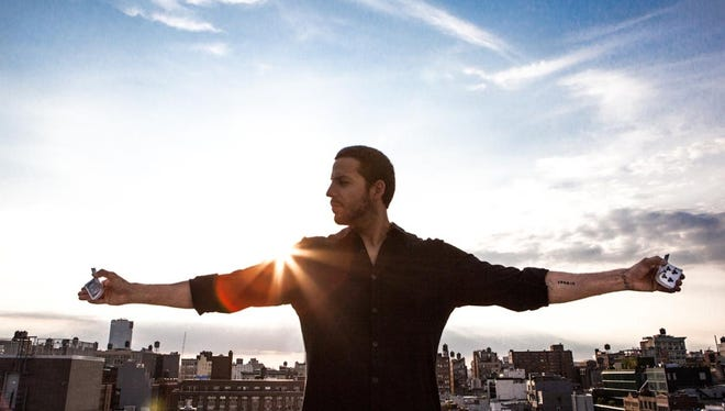Magician David Blaine takes his first North American tour to the Plaza Theatre on Friday.