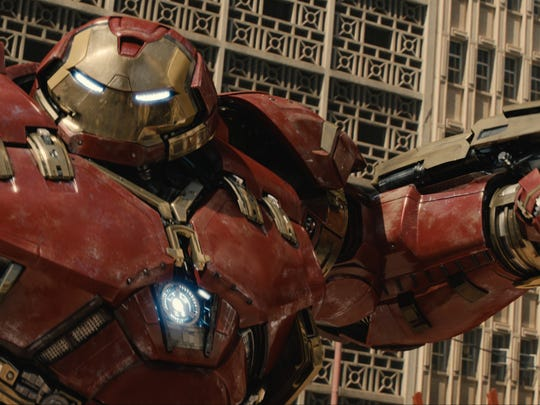 """Marvel's Avengers: Age Of Ultron"" features the .Hulkbuster."