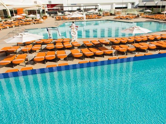 New pool at Grand Sierra Resort.