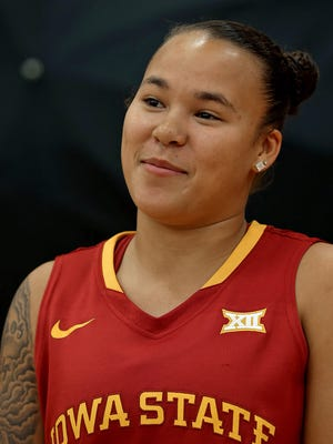 Kidd Blaskowsky led the Iowa State women's basketball team with 17 poitns Sunday in an exhibition victory over Winona State.
