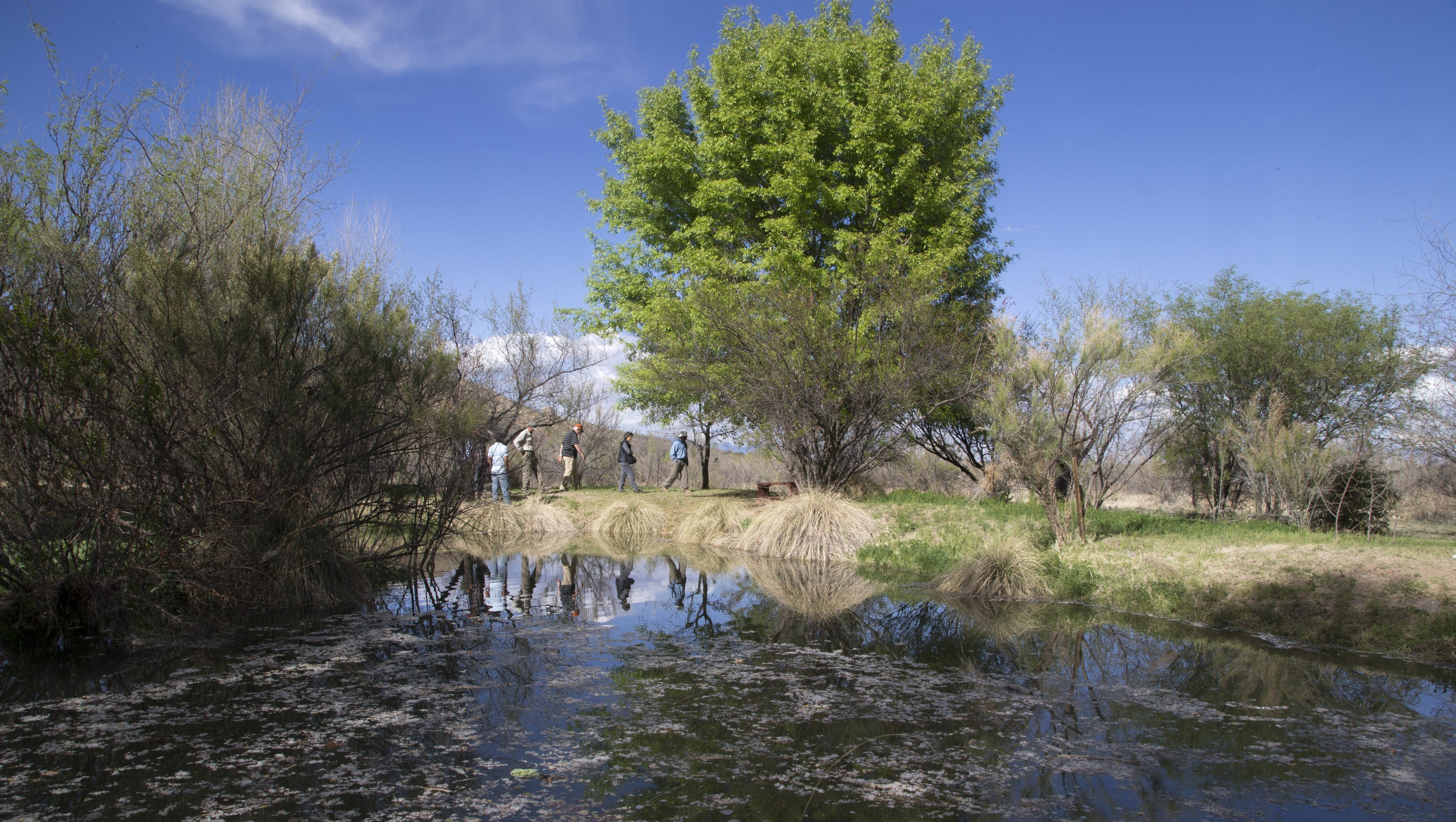 Replenishing A Dried Up Arizona River A Few Drops At A Time