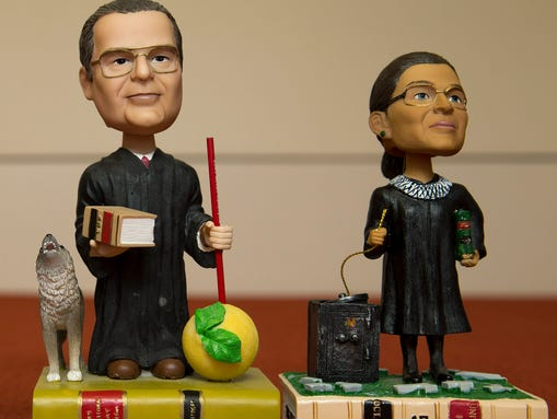 Justices Scalia and Ginsburg have received the ultimate