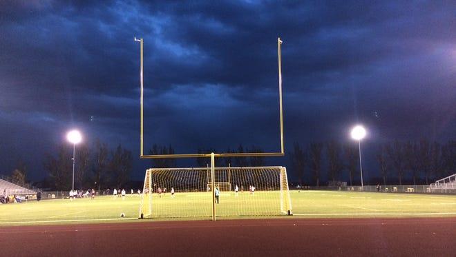 Severe weather Wednesday halted Windsor girls soccer playoff action