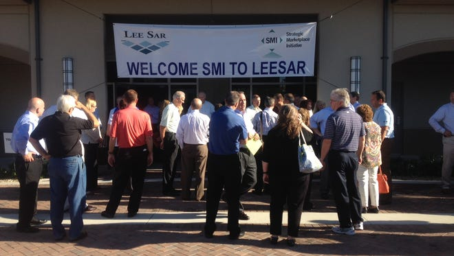 Members of the Strategic Marketplace Initiative are to touring LeeSAr this morning.