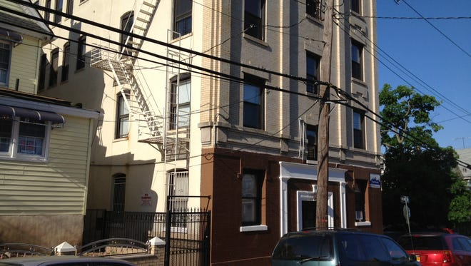 Scene of fire at 100 Livingston Ave., Yonkers.