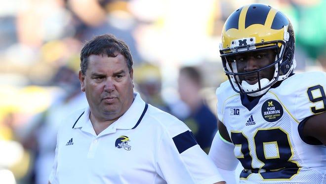Michigan coach Brady Hoke and quarterback Devin Gardner had few answers in a 31-0 loss to Notre DAme.