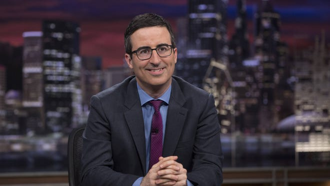 Courtesy of HBO John Oliver will appear at the State Theatre in New Brunswick for two shows on Sunday, Dec. 14.