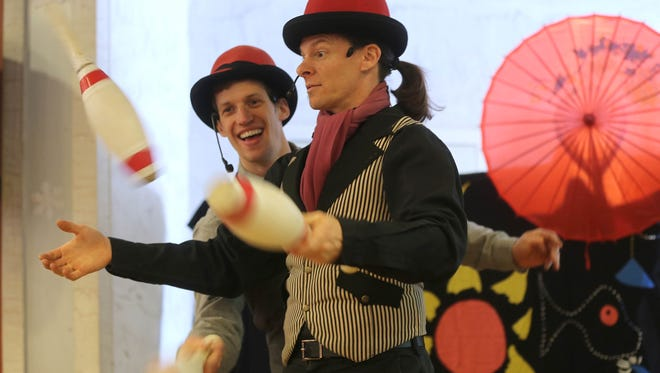 The Give & Take Jugglers will be among the entertainers for First Night, Ocean City's New Year's Eve celebration.