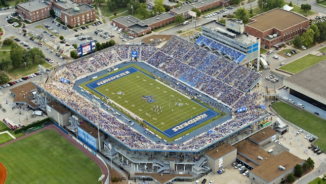 MTSU AD Chris Massaro and the Blue Raider Athletics Department will look for new ways to boost attendance in 2016.