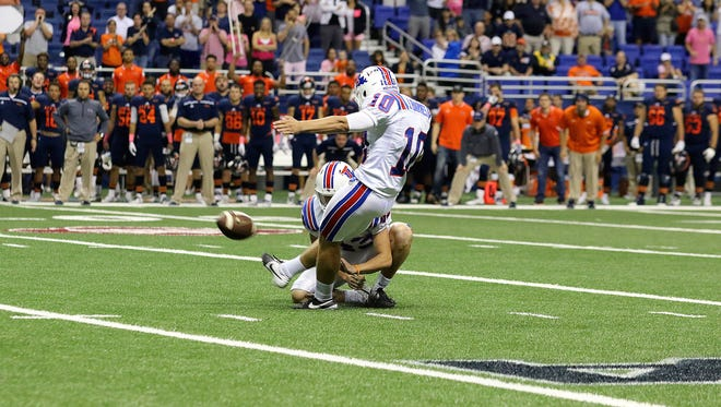 La. Tech's Jonathan Barnes has been named to the Lou Groza Award watch list.