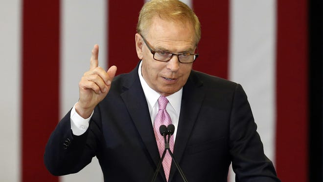 The National Rifle Association has targeted former Gov. Ted Strickland in the 2016 Senate race.