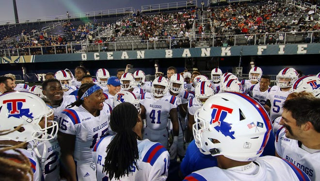 Louisiana Tech is a 29-point favorite for Saturday's home game against Rice.