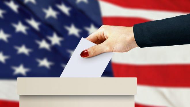 Voting stock photo