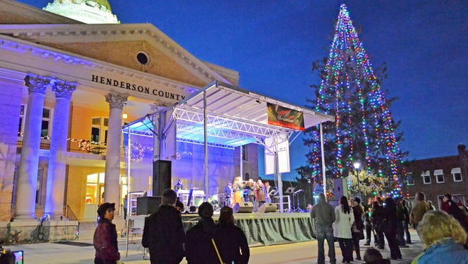 On Nov. 25, the city of Hendersonville will light up its streets and invite Santa Claus downtown for a special holiday event.