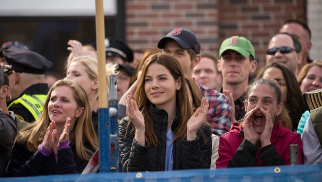 """Michelle Monaghan (center) in """"Patriot's Day."""""""
