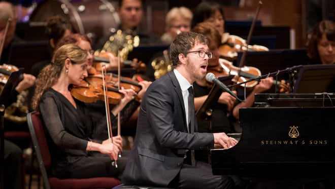 """Ben Folds performs at the debut """"Ben Folds Presents"""" concert at the Kennedy Center on June 30. Photo submitted."""