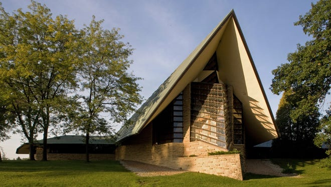Built in 1951, the original First Unitarian Society Meeting House has been hailed as one of the world's most innovative examples of church architecture.