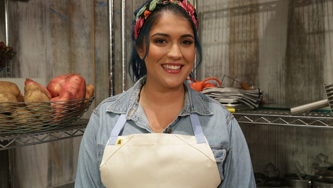 "Cristina Vazquez of Fair Lawn competed on ""Spring Baking Championship,"" which will begin airing on Monday at 9 p.m. on the Food Network."