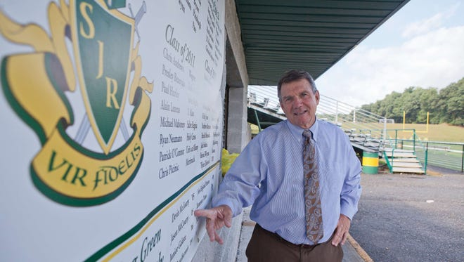 St. Joseph Regional will name its football field after Tony Karcich in October. (File photo)