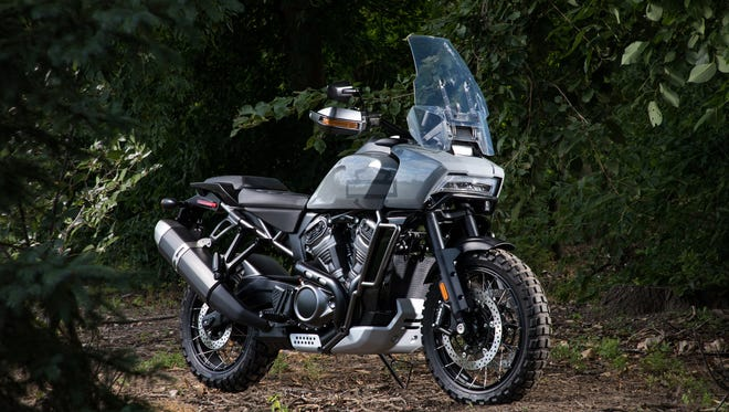 Harley-Davidson's new adventure touring bike is one of several motorcycles the company announced Monday.