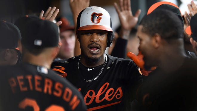 Baltimore Orioles outfielder Adam Jones is well known for his charitable work in the community. AP FILE PHOTO