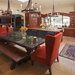 An overview of the kitchen shared by Christopher Gross and Jaime Hormel as seen in Paradise Valley on Jan. 21, 2015.