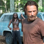 The Walking Dead creator Robert Kirkman and executive producer David Alpert in Austin, Tex., March 13, 2015