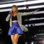 Taylor Swift performs at the MGM Resorts Festival Grounds in Las Vegas in May 2015.