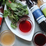The sharp acidity and natural sweetness of vinegars are useful for uniting the many ingredients and flavors of a dish.