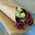 The veggie burritos recipe uses high heat, which brings out the natural sweetness of the vegetables.