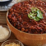 A Dutch oven and, surprisingly, cocoa powder and soy sauce are needed to create this rich and satisfying Game Day Turkey Chili.