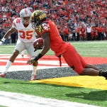 Iowa's Desmond King had first career interception and TD against Indiana