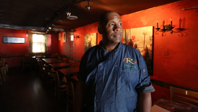 Chef/owner Nigel Spence is pictured in the dining room at Ripe Kitchen and Bar in Mount Vernon.