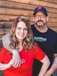 Tara and Jason Beam own Roadhouse Diner
