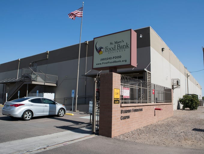 St. Mary's Food Bank Alliance shown in Phoenix, Ariz.