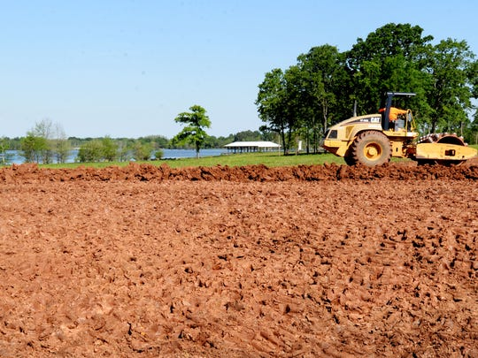 The Point at Cross Lake will be a new gated community.
