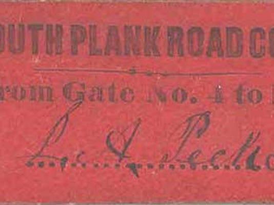 PlankRoadTicket