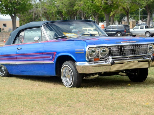 Carlsbads Annual CarAFair Draws Motorheads From Across The State - Merit chevrolet car show