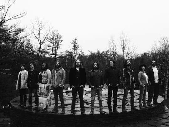 The 10-piece band the Magpie Salute is now touring