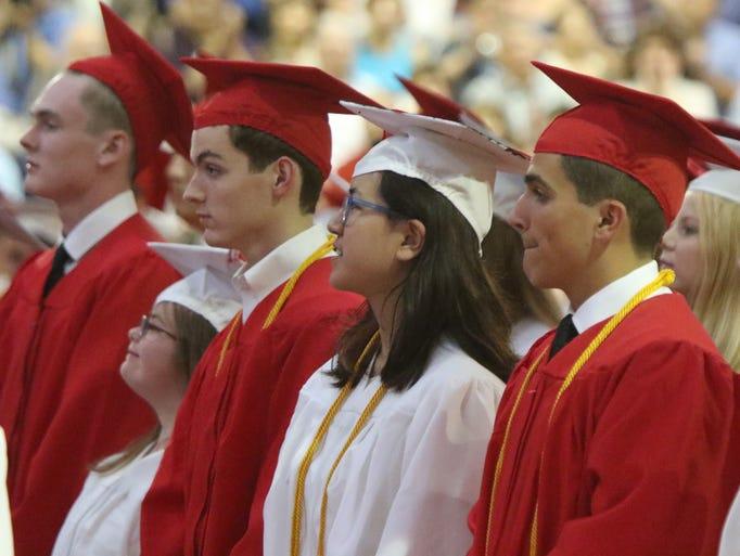 Whippany Park High School graduation  June 24, 2016